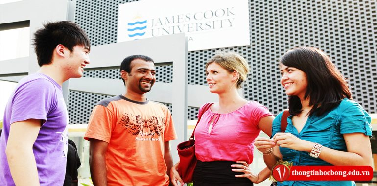 Hoc tap tai dai hoc James Cook Singapore