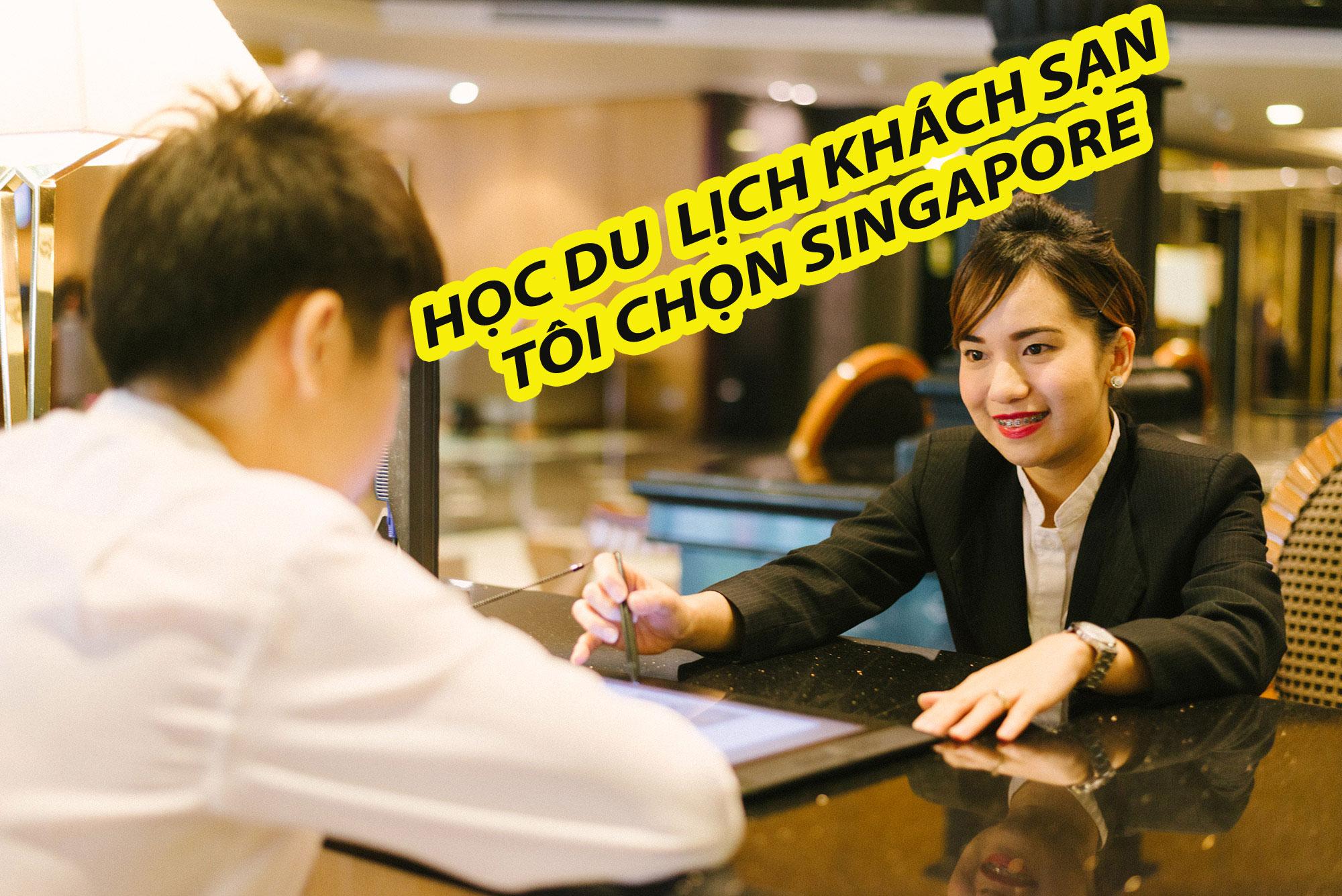 Học du lịch khách sạn tại Singapore