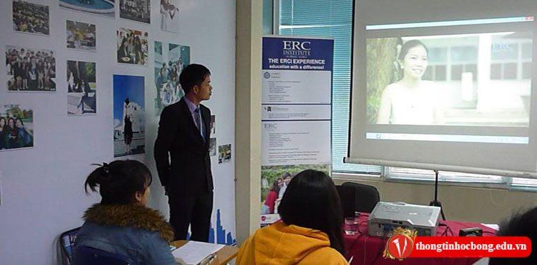 hội thảo du học singapore cùng học viện erc