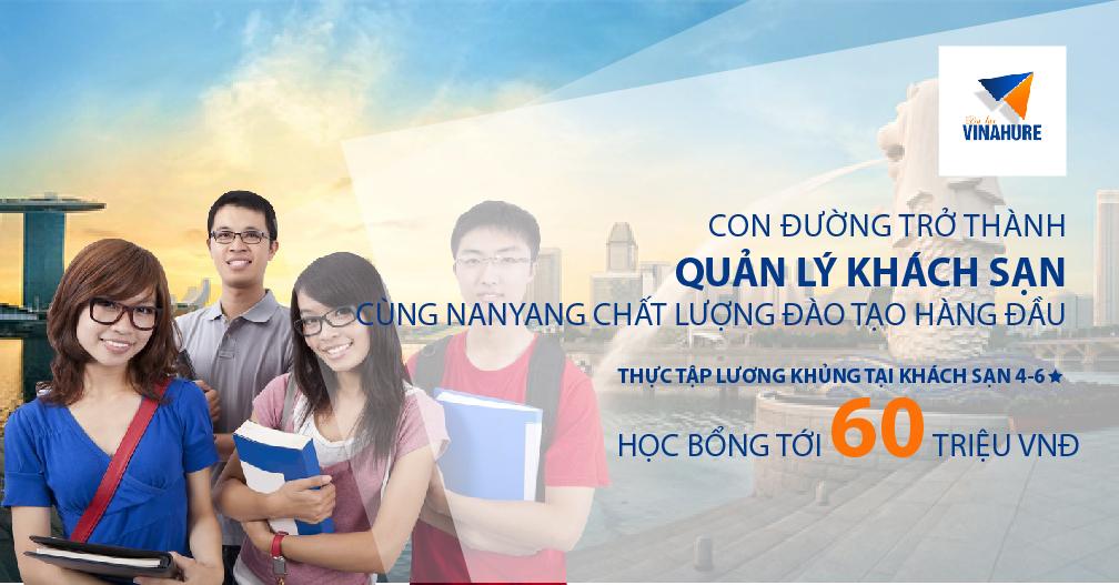 Hội thảo: Thực tập hưởng lương ngành Quản lý khách sạn/ Kỹ sư xây dựng cùng Học viện Nanyang