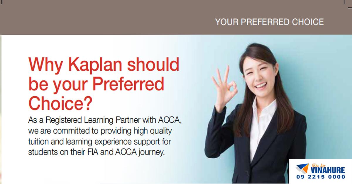 Tại sao cần học chứng chỉ ACCA? - Du học Singapore 2019 cùng tư vấn